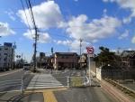 鷲塚町側の旧道入口