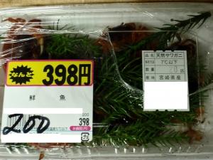天然サワガニ200円 :エクステリア横浜(神奈川県・東京都の外構工事専門店)