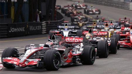 2007年F1モナコGPスタート