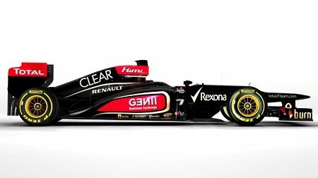段差ノーズを採用F1新車ロータスE21