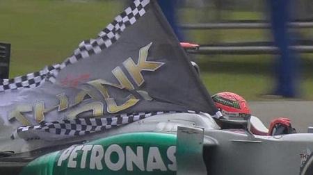 2012年シューマッハの引退レース