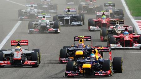 2012年F1のスタートデータ