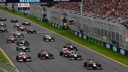 2013年F1開幕戦オーストラリアGPのスタート