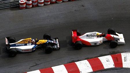92年F1モナコGP