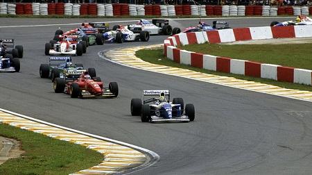 94年F1開幕戦ブラジルGPスタート