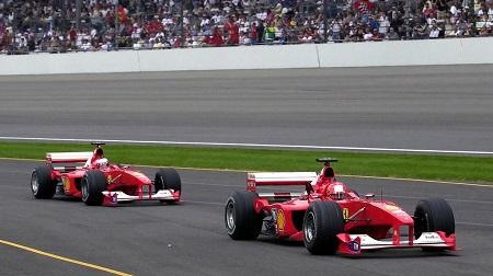 ロリー・バーンのフェラーリF1-2000