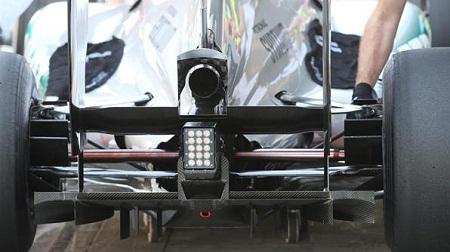 F1アブダビGPのザウバーのディフューザー