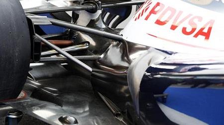 F1 第17戦 インドGP:ウィリアムズのコークボトル