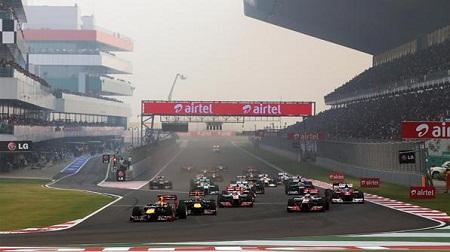2012年F1インドのスタート