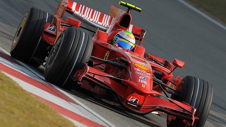 フェラーリF2008のマッサ
