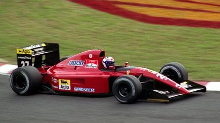 フェラーリ643のプロスト