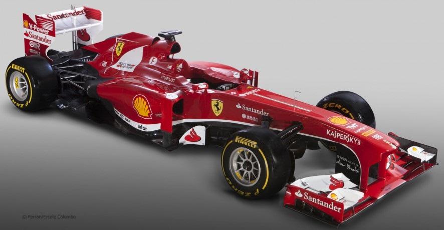 フェラーリF138