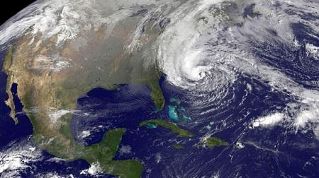 アメリカ東海岸を襲ったハリケーン「サンディ」