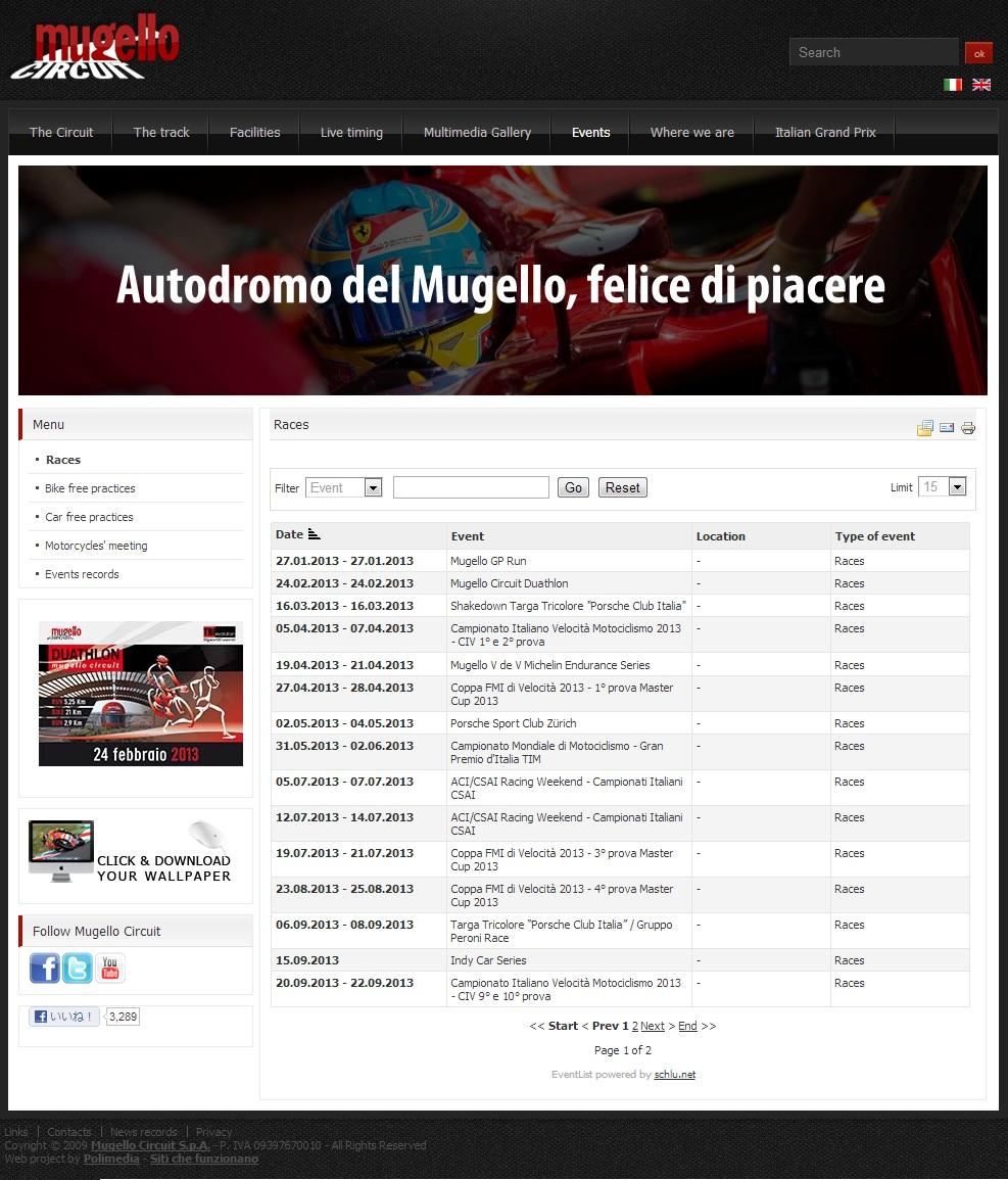 ムジェロでインディカー開催確定か