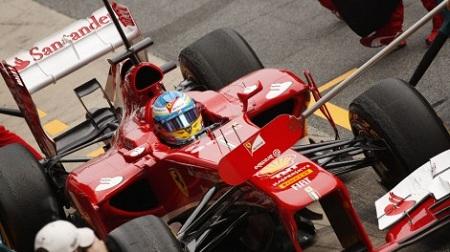 2013年F1バルセロナテスト2日目のペレス