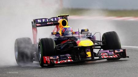 2013年F1バルセロナ2ndテスト1日目のハミルトン