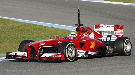 2013年F1ヘレステスト3日目のマッサ