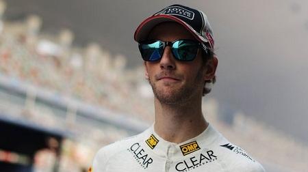 2013年もロータスで走るグロージャン