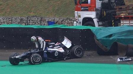 2012年F1ブラジルGPのマルドナド師匠
