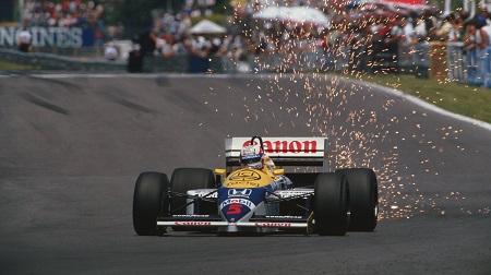 86年ウィリアムズFW11のマンセル