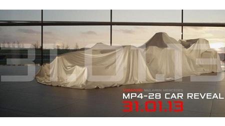 マクラーレンの新車MP4-28