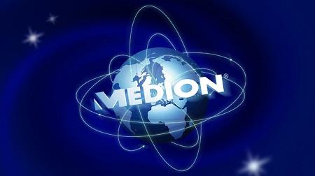 スーティルのスポンサーMEDION(メディオン)のロゴ