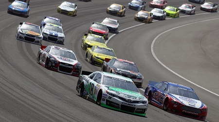 NASCAR 2013 スプリントカップ オートクラブ 結果