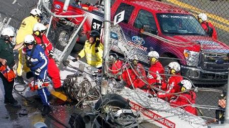 NASCARネイションワイドで多重事故其の弐