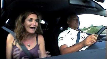 奥さんと全開ドライブするパトレーゼ