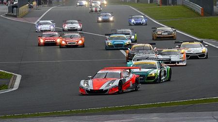 2012年 SUPER GT ラウンド2 富士のスタート