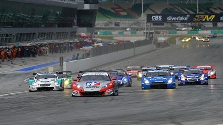 2012年 SUPER GT ラウンド3 セパンのスタート