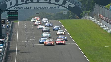 2012年 SUPER GT ラウンド4 菅生のスタート