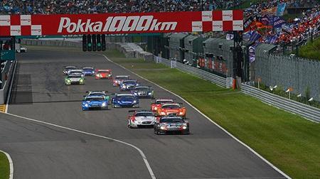 2012年 SUPER GT ラウンド5 鈴鹿のスタート