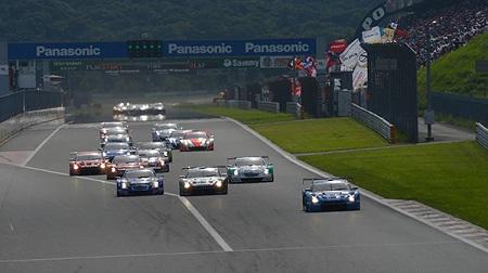 2012年 SUPER GT ラウンド6 富士のスタート