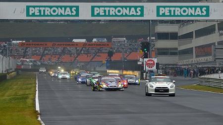2012年 SUPER GT ラウンド7 オートポリスのスタート