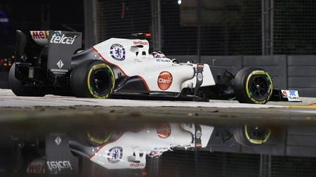 2012年F1シンガポールGPの可夢偉