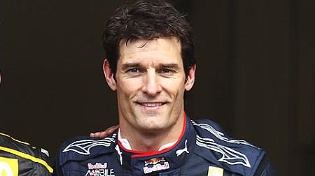 F1トップドライバーのマーク・ウェバー
