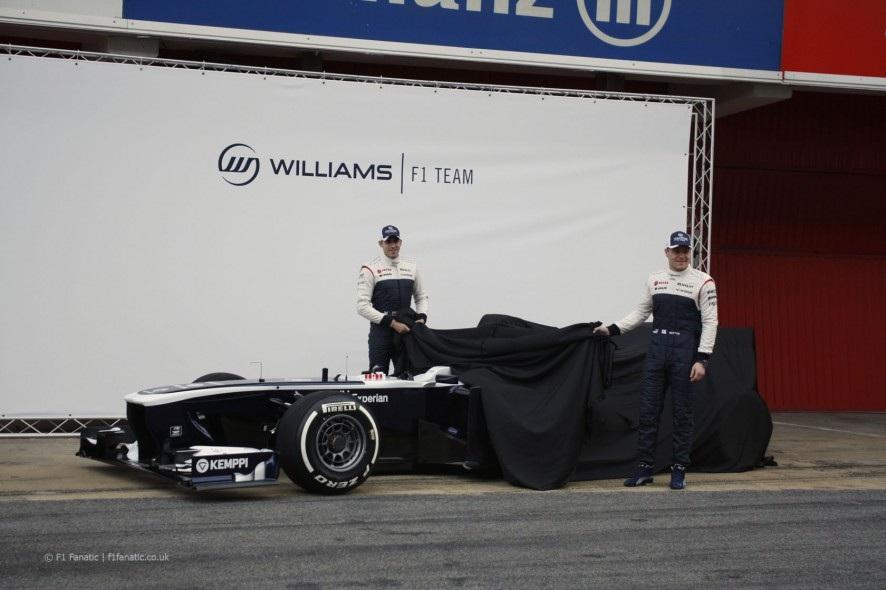 ウィリアムズFW35画像1