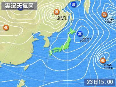 天気図223