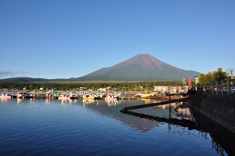山中湖からの富士山中湖からの富士