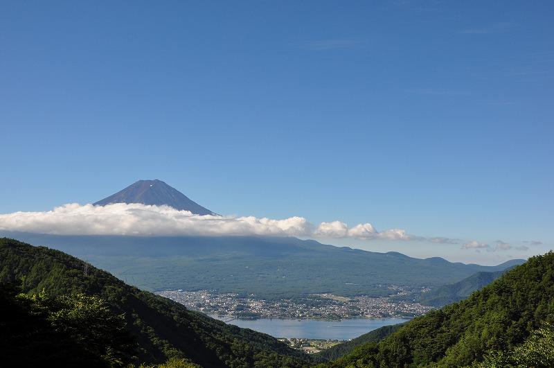 御坂峠からの富士御坂峠からの富士