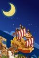 船と月 ③