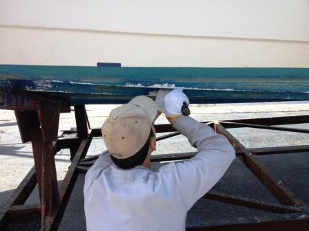 20120915 フジツボ取り職人