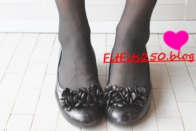 痛くない靴FitFit着用
