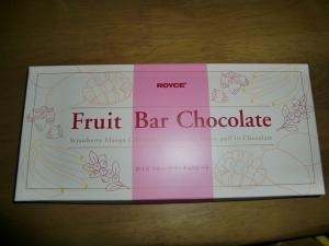 フルーツバーチョコレート
