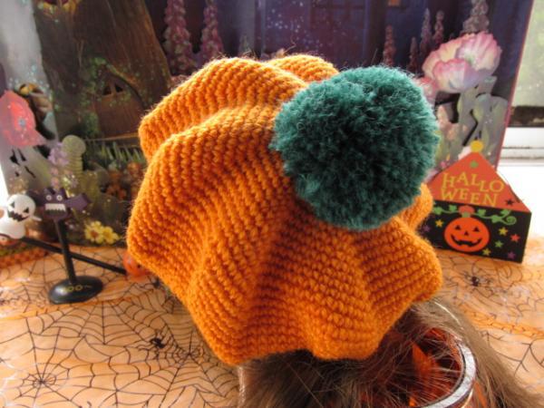 かぼちゃのベレー帽