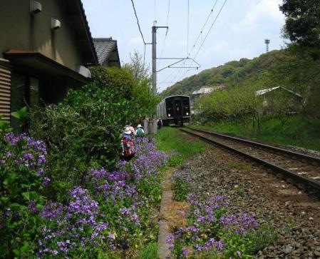 内野駅から小竹駅まで 158