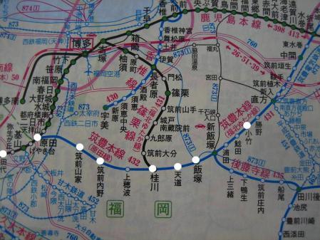 内野駅から小竹駅まで 174