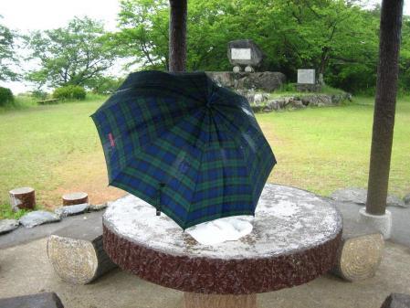雨の清水山 070