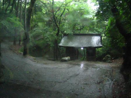 雨の清水と川下り 014